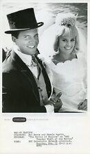 PAMELA AUSTIN PAT BOONE SMILING BRIDE & GROOM PERILS OF PAULINE '66 NBC TV PHOTO