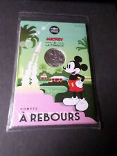 FRANCE 2018 PIECE MICKEY A REBOURS, FUSEE, 10 EURO ARGENT, VF SILVER COIN