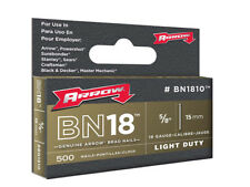 Arrow ARRBN1810 BN1810 Brad Nails 15mm Pack 1000