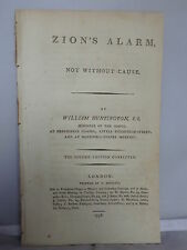 1798 - Zion's Alarm - Not Without Cause by William Huntington