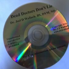Dead Doctors Don't Lie Audio CD on vitamins and minerals Dr. Joel D. Wallach