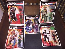 Lot Of 5 GI Joe Action Figures Funskool India Sealed MOC Budo Hydro Viper G.I.
