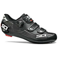 Sidi Alba Carbon Road Cycling Bicycle Shoes Black Size 9 US / 43 EU