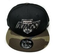 Los Angeles Kings New Era 9Fifty Vintage Chevy Logo Army Brim Snapback NHL