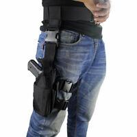US Tactical Drop Leg Holster Adjustable Right Hand Thigh Pistol Gun Holster