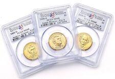 2008-D James Monroe, Andrew Jackson, Martin Van Buren $1 PCGS MS68 Satin Finish