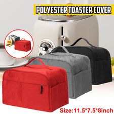 Foldable 2-Pieces Toaster Bakeware Polyester Cover Dust Protector Kitchen Tool