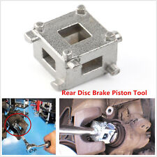 "Car Rear Disc Brake Piston Caliper Wind Back Cube 3/8""inch Calliper Adaptor Tool"