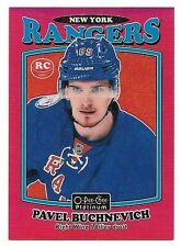 16/17 O-Pee-Chee Platinum Retro Rainbow Red Rookie #R84 Pavel Buchnevich #11/15