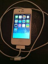 Apple iPhone 4s A1387 EMC2430 Sprint Smartphone White Working