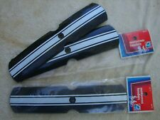 NOS DORCY/OGK BMX Fender FF-2, MX Japan, Black/White Striped Packaged One Pair