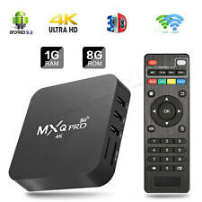MXQ Pro 4K Dual WiFi Android Quad Core 1GB+8GB Smart TV Box 3D Home Media Movies