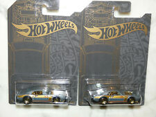 Lot 2 NEW 2019 Hot Wheels Satin Chrome Custom '67 Pontiac Firebird 51 Walgreens