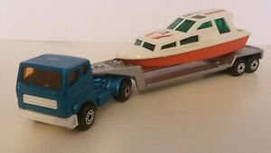 "Matchbox ""900 Series"" Articulated Boat Transporter (TP-26)"