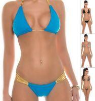 KouCla CLEOPATRA Women's Top & Bottom Swimwear Swimsuit 2-Piece Bikini Set-S/M/L