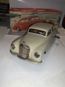 Auto Latta Mercedes 300 Jnf made in Germany  Vintage Tin Toy Schuco Arnold Ingap