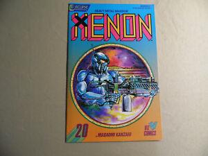 Xenon Heavy Metal Warrior #20 (Eclipse 1988) Free Domestic Shipping