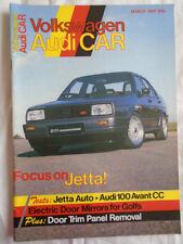 Volkswagen Audi Car Mar 1987 Jetta auto, Audi 100 Avant CC