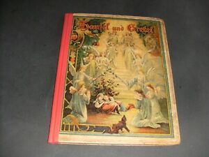 """altes Märchenbuch """" Hänsel und Gretel"""" von Maria"""