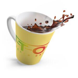 Yellow TOSO Latte mug