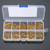 300pcs 10 Values 50V 10pF To 100nF Ceramic Capacitor Assortment Kit Set