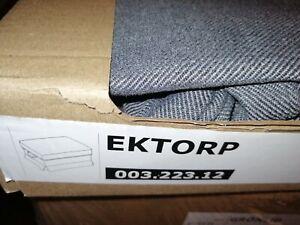 IKEA Ektorp Bezug  für Hocker Nordvalla Dunkelgrau 003.223.12 NEU