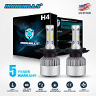 CREE COB H4 HB2 9003 1080W 162000LM LED Headlight Kit Hi/Lo Power Bulbs 6000K