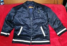 Vtg. Sportscaster Seattle Police Firefighter Down Jacket Talon Zipper Sz. 44 Usa