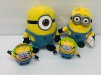 Minions Toy Lot with Plush & McDonalds Figures READ DESCRIPTION FLAWS