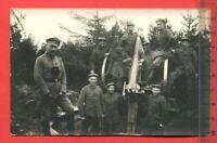Foto AK 1.WK, Militär, Ballon Abwehrkanonen Zug 515, Geschütz ( 64166