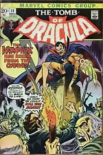 """The Tomb of Dracula 14 (1973) """"Dracula Is Dead!"""""""