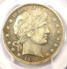 1904 PROOF Barber Half Dollar 50C Coin - Certified PCGS PR53 (PF53) - Rare!