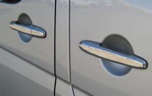 Chrome Door Handle Trim Set Covers To Fit Volkswagen Crafter (2006-16)