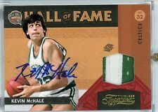 Kevin McHale Autograph Jersey Patch 2009-10 Timeless Treasures Hall of Fame 2/10