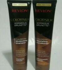 Revlon Colorsilk Gorgeous Brunette Colorstay Moisturizing Shampoo and Conditione