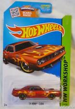 1971 Plymouth Hemi Cuda 1/64 Scale Diecast Model From HW Workshop by Hot Wheels
