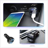 Car GPS tracker Dual USB DC 5V 4.2A Car Charger Car Voltage Detector For 12-24V