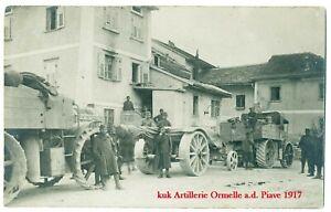 K.u.k Foto LKW Artillerie Zugwagen 1wk pre ww1 kuk truck trailor Italienfront