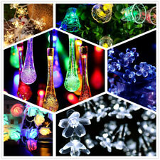 20 LED Xmas String Fairy Lights Waterproof Outdoor / Indoor Party Decoration USA