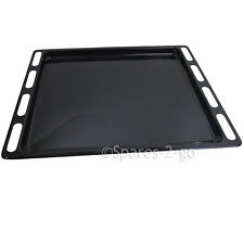 INDESIT Genuine Oven Cooker Grill Pan Enameled Tray Base Spare C00137834