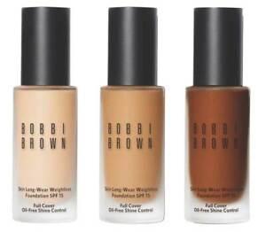Bobbi Brown Skin Long Wear Weightless Foundation SPF 15 CHOOSE SHADE - REAL DEAL