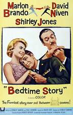 BEDTIME STORY Movie POSTER 27x40 B