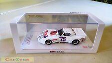 1:43 TrueScale Miniatures TSM, 1975 Chevrolet Corvette, #75, Daytona 24hr