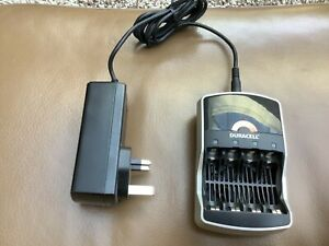 DURACELL BATTERY CHARGER - MODEL CEF15GBL - INCLUDING POWER SUPPLY