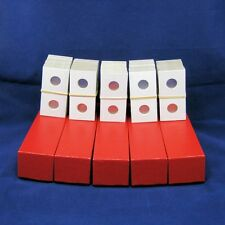 500 Cardboard 2x2 Mylar Coin Holders for Pennies / Cents with 5 Storage Boxes