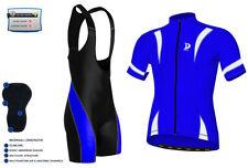 Conjuntos de ciclismo azul