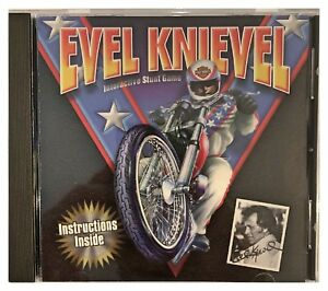 Evel Knievel Interactive Stunt Game Pc Brand New XP Be A Professional Stunt Man