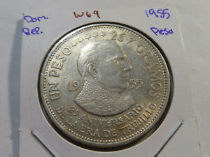 W69 Dominican Republic 1955 Peso