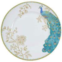 222 Fifth Peacock Garden Dinner Plate 9603805