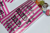 PERSONALISED Wedding Sweet Bags for Sweet Table Wedding Favours or Candy Bar